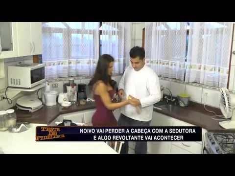 Teste de Fidelidade: 'Chef' infiel quer relacionamento com sedutora