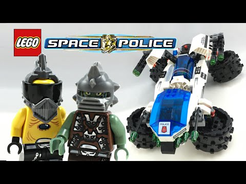LEGO Space Police Max Security Transport set review! 2009 set 5979!