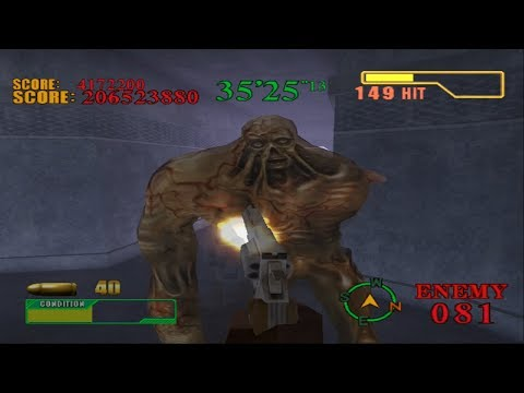 Let's Fully Play Resident Evil Survivor 2 - Code: Veronica   Dungeon Mode   Inferno - Mission 6