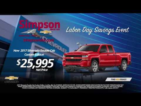 Labor Day 2017 Simpson Chevrolet Irvine And Garden Grove Youtube