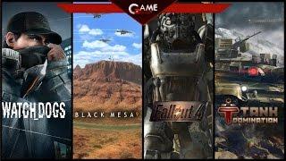 Обзор новинок игр Fallout 4, Playstation 4, Watch Dogs, Black Mesa, Tank Domination