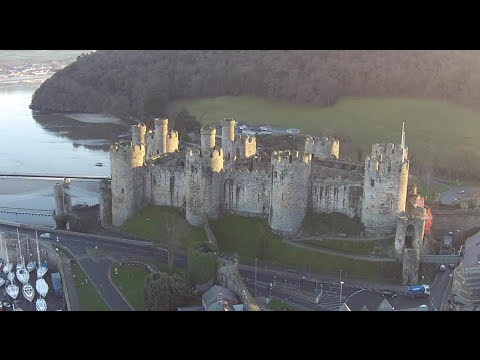 Flight of the Phantom - Conwy, North Wales. UK (1080p)