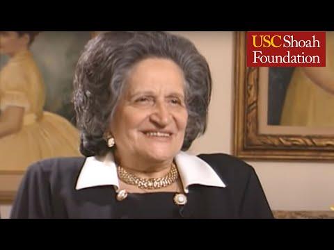 Jewish Survivor Louise Farkas Testimony