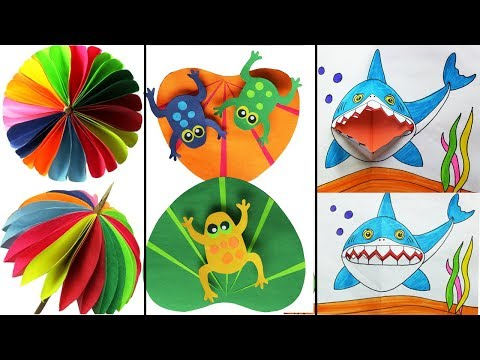 Very Interesting Paper Crafts Ideas for kids- Easy Craft