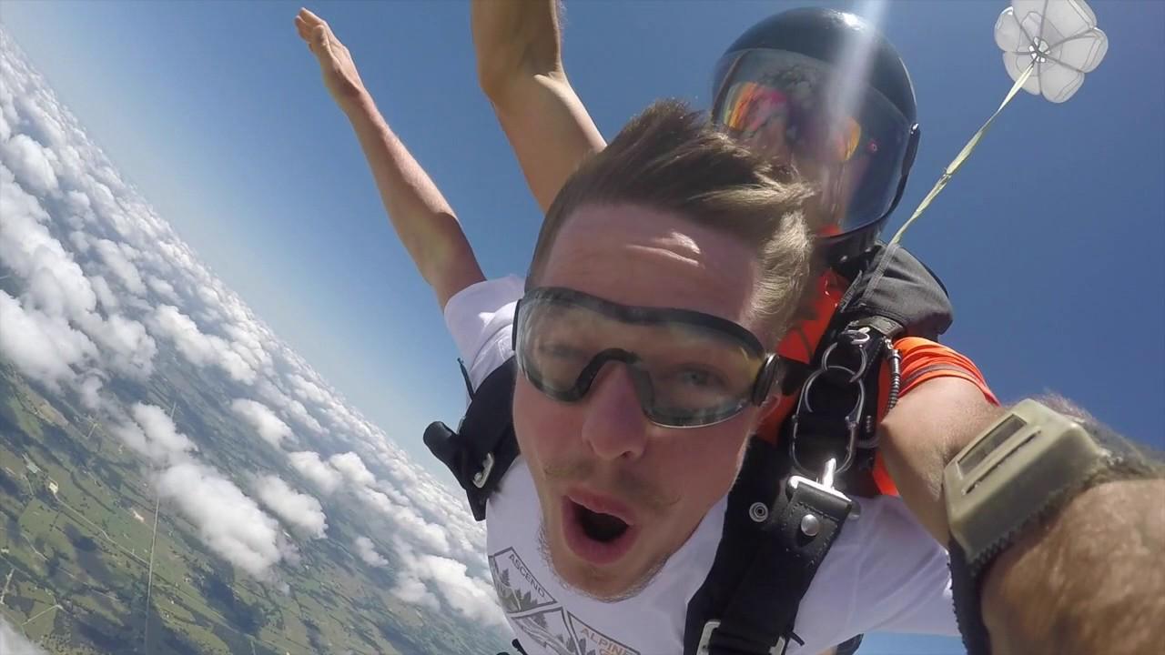 Tandem Skydive Reed From El Dorado Ar