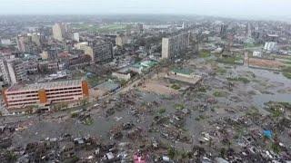 Il ciclone Idai devasta il Mozambico, le immagini del drone