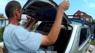 видео Ваз 2110: как проводится замена заднего стекла