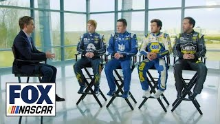 Jeff Gordon Talks With All Four Hendrick Drivers About The New Team Dynamic | Nascar Raceday