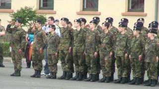 Gelöbnis Klotzbergkaserne , Idar Oberstein - Einmarsch Heeresmusikkorps