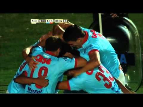 Arsenal dio la sorpresa y venció a San Lorenzo en el Nuevo Gasómetro