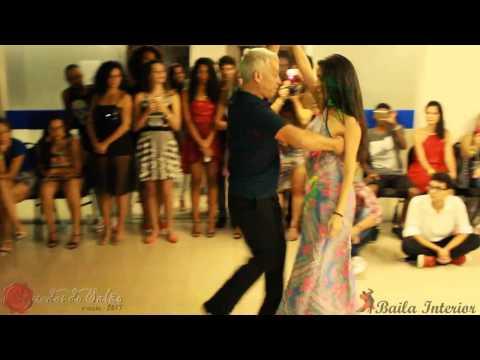 Baila Interior - Jaime Arôxa e Bárbara Ribeiro - Zouk DEMO (Baile Segredos do Salão)