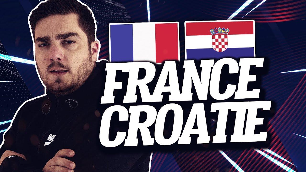 🔴 [ LIVE ] FRANCE - CROATIE // Club House