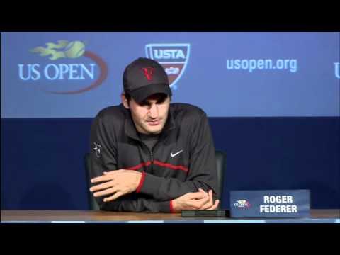 2011 US Open Press Conferences: Roger Federer (First Round)