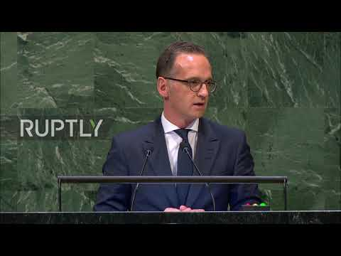 UN: German foreign minister praises multilateral diplomacy
