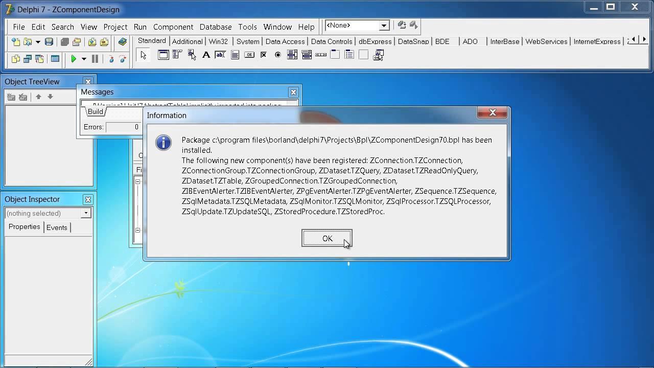 Delphi 7 + SQLite + ZeosLib