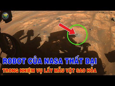 Robot của NASA thất bại trong nhiệm vụ lấy mẫu vật trên Sao hỏa | Khoa học vũ trụ - Top thú vị |