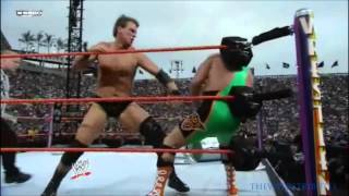 JBL vs Finlay Wrestlemania 24 Highlights HD