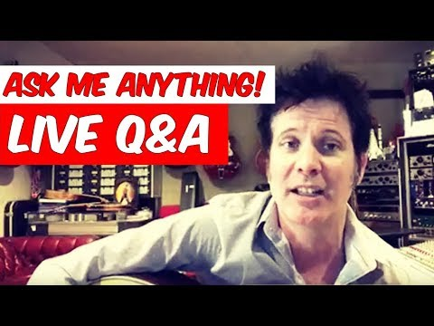 Ask me anything- Live Q&A