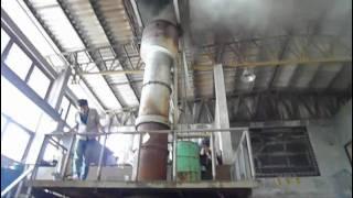 Cupola Furnace Workshop: เริ่มเปิดลมเบา