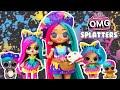 LOL OMG DIY Splatters Big Sister Makeover OMG Fashion Doll