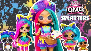 LOL OMG DIY Splatters Big Sister Makeover OMG Fashion Doll
