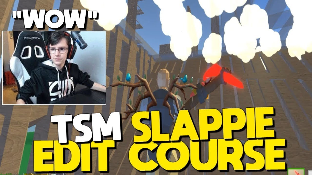TSM Slappie Edit Course In Strucid... *SCUFFED (Roblox ...