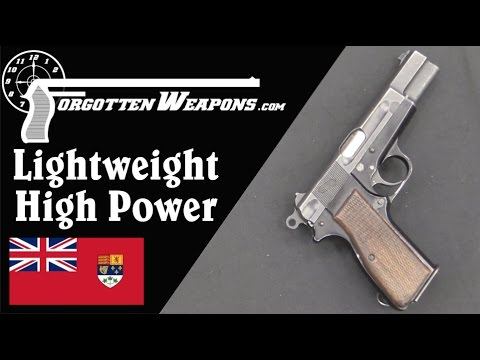 Experimental Lightweight Browning High Power