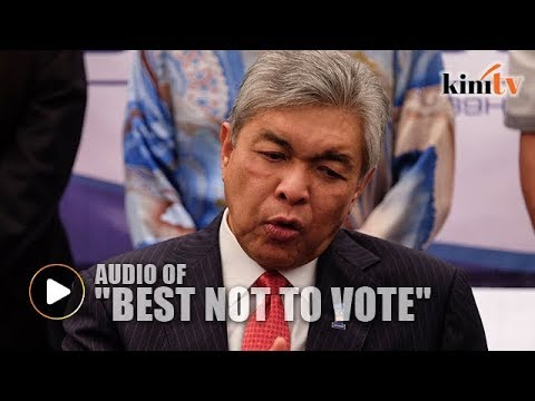 Malaysiakini accused of twisting Zahid's statement, but here's the audio recording