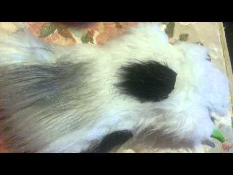 How I paint my fur for my fursuit