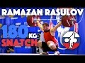 Ramazan Rasulov 94 180kg Snatch Slow Motion mp3