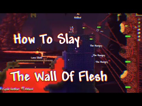 Terraria How To Summon And Slay The Wall Of Flesh (Updated 2019)