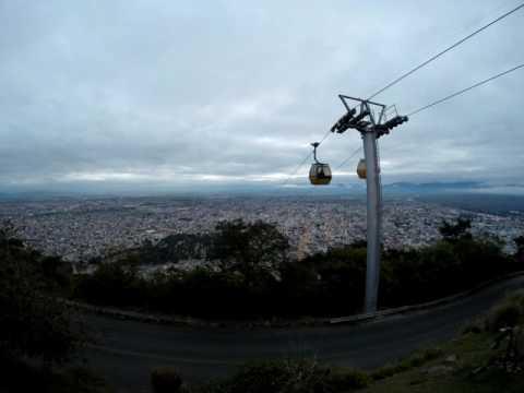 Atardecer en la ciudad de Salta, Argentina. [TIMELAPSE]