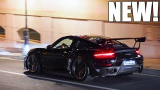 FIRST 2018 Porsche GT2 RS in Monaco, ACCELERATIONS & SOUND!