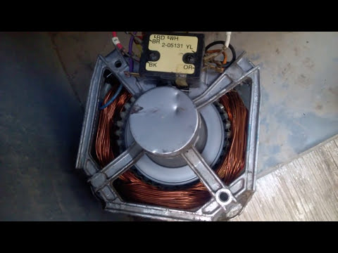 Como Conectar Un Motor De Lavadora De 7 Cables Doovi