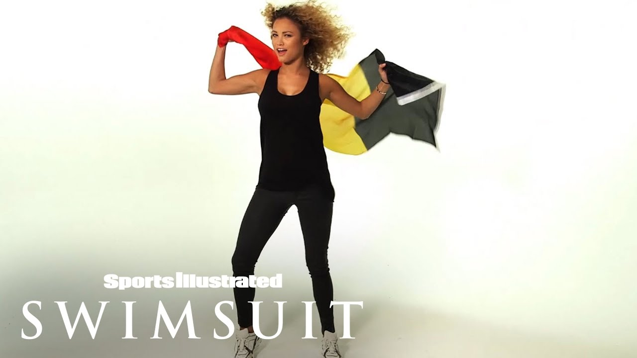 c7a8146af Learn French with Rose Bertram   Sports Illustrated Swimsuit - YouTube