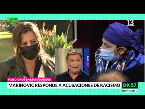 Marinovic responde a acusaciones de racismo. Bienvenidos, Canal 13.