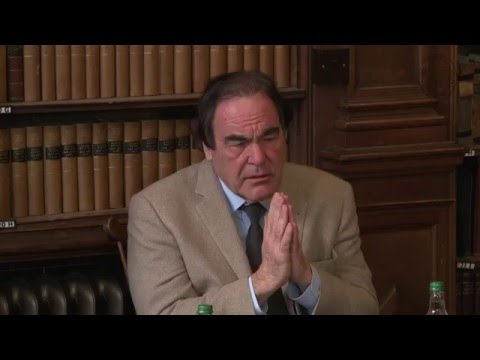 Oliver Stone | Full Q&A | Oxford Union