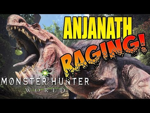 ANJANATH EPIC RAGE, EPIC FIGHT! Monster Hunter World (#8)