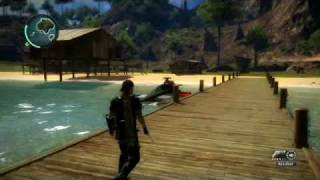 Just Cause 2 Black Market Boats and Bazooka location.