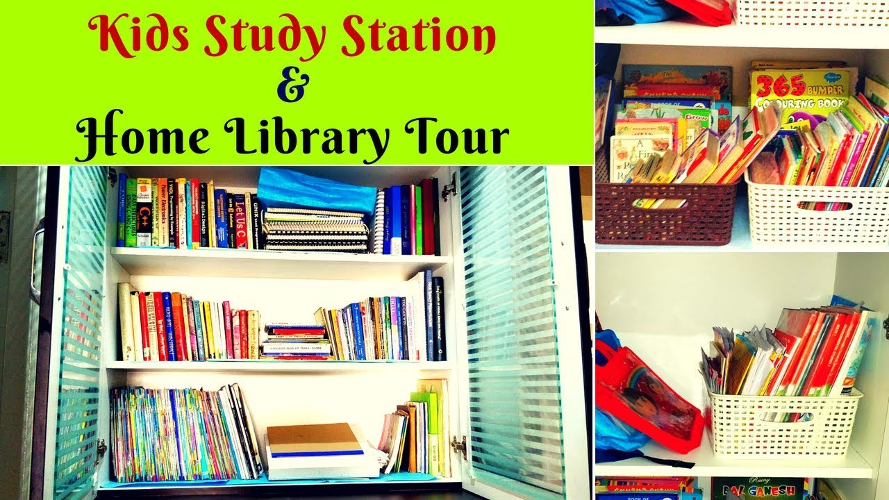 Books Organization Study Station For Kids 7 Great Tips To Setup A Home Library