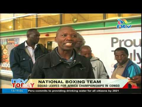 National Boxing Team: Sqaud leaves for Africa Championships in Congo