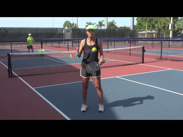 Pickleball Tutor Tips:Target your Punch Volley!