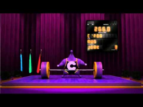 Rupert Degas - Comedy Channel: Weightlifting