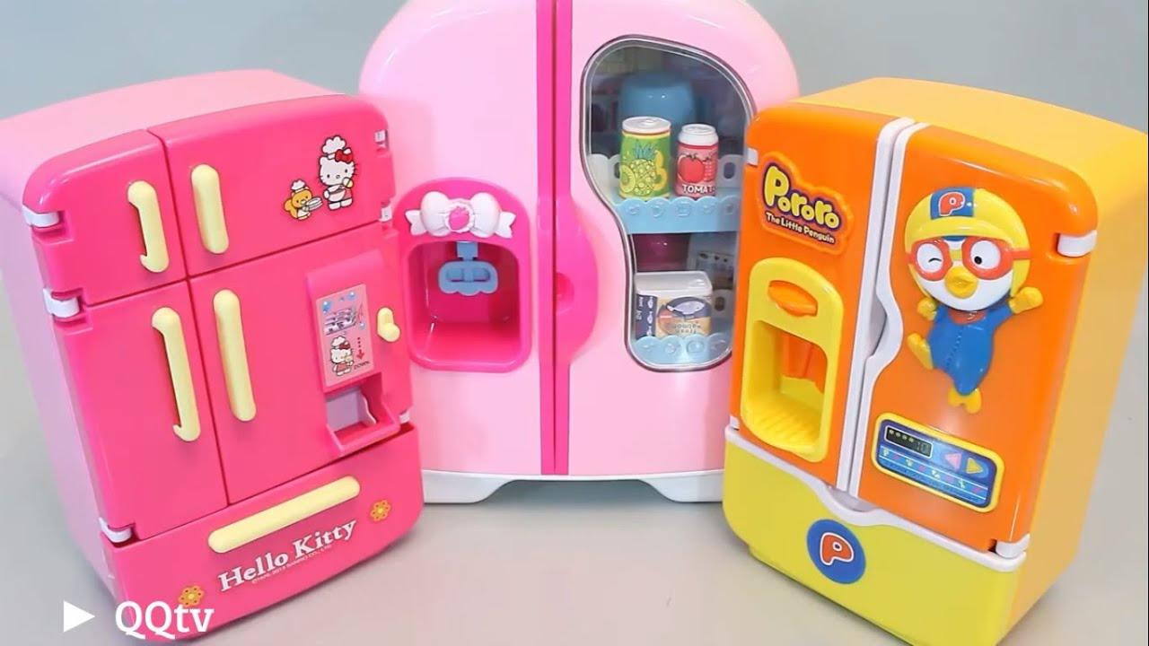 Toy Hello Kitty Watch : Hello kitty pororo toys refrigerator cream infant