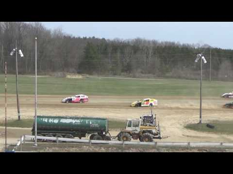 19. I.M.C.A. at Crystal Motor Speedway Test and Tune, 04-09-17