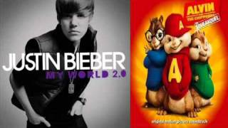 Alvin and The Chipmunks sing Baby by Justin Bieber