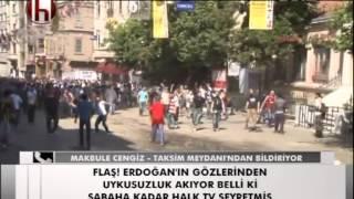 TAKSIM GEZI PARKI - HALK TV - 1 HAZIRAN 2013