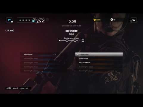 siege matchmaking taking forever