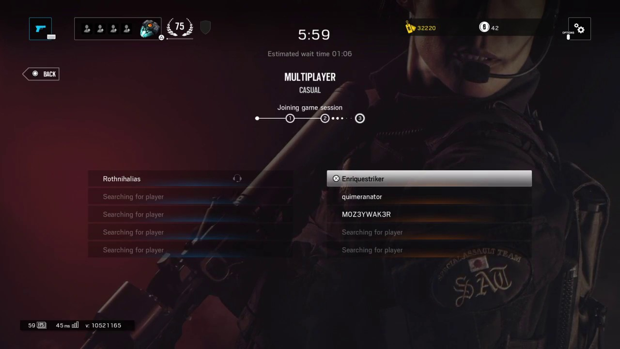 There are currently 15 maps in the casual matchmaking queue, only nine of.