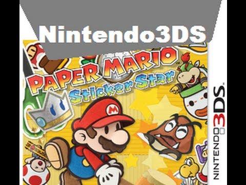3DS - Paper Mario Sticker Star Commercial Portuguese